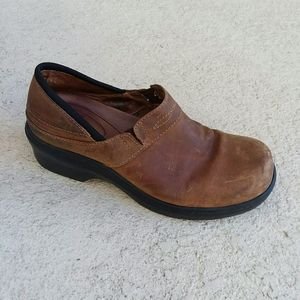 ARIAT Brown Leather Comfortable Wedge Shoe Size 7